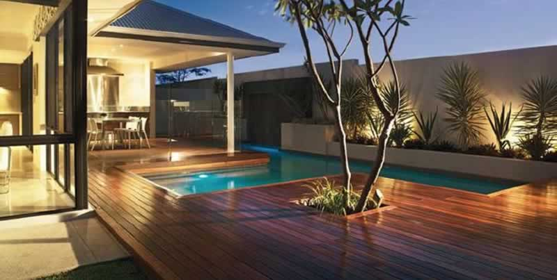 The Best Deck Material For Your Backyard - tropical hardwood deck
