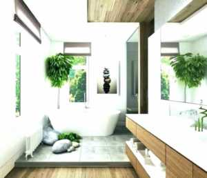 Tropical Bathroom Design - modern bathroom