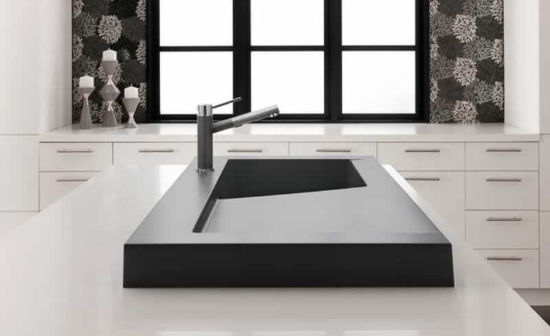 Workstation sink - modern sink
