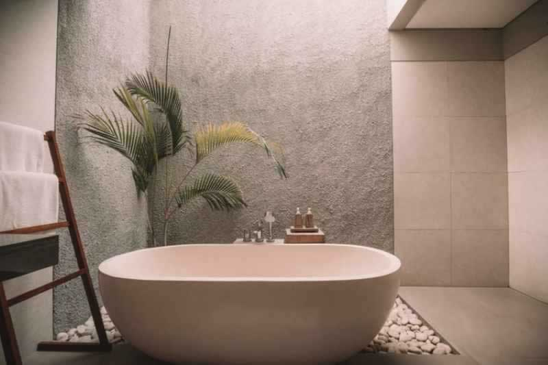 Add a Touch of Luxury to Your Bathroom - bathtub