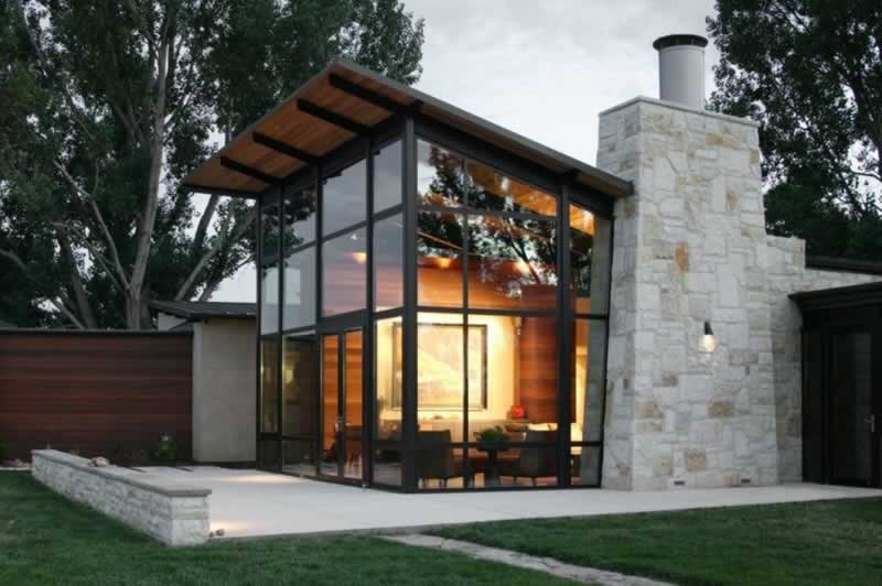 Are steel homes cheaper to build - combined house
