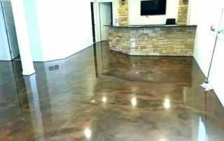 Basement Flooring Options - epoxy