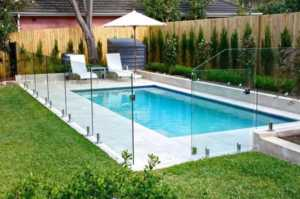 Do I Need a Fence Around My Above-Ground Pool - glass fence