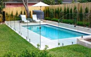 Do I Need a Fence Around My Above-Ground Pool - glass fence