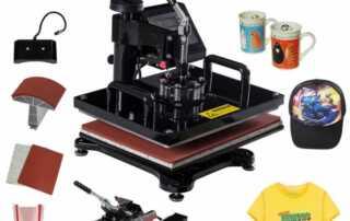 Heat Press Machine Printing Artwork
