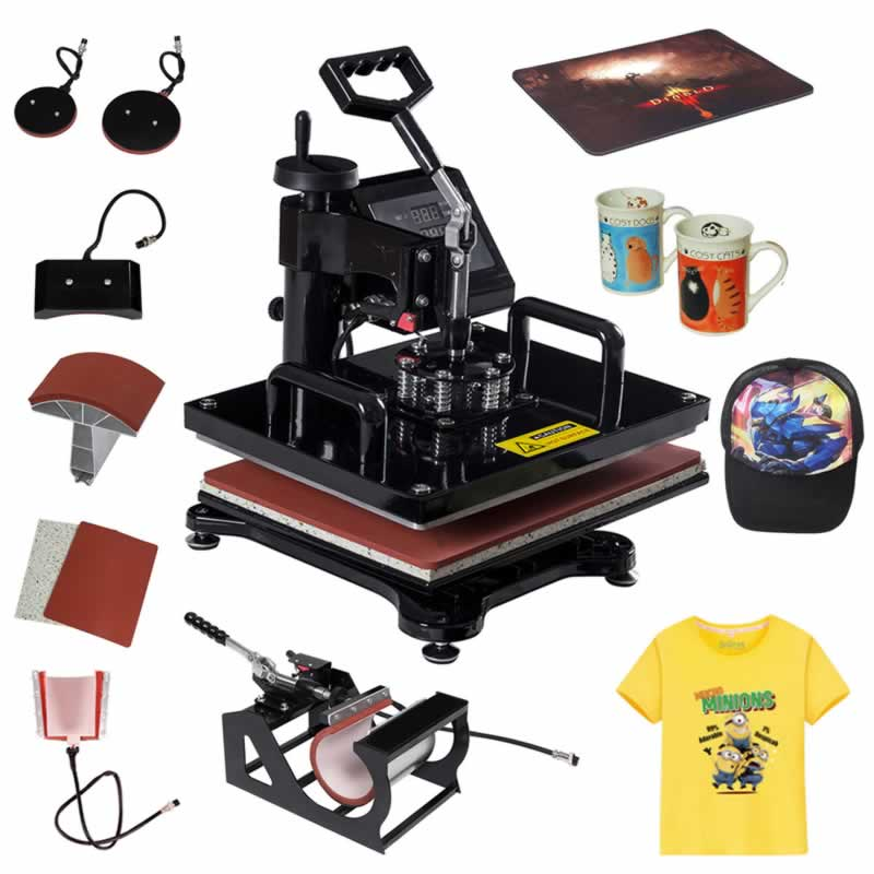 Heat Press Machine Printing Artwork