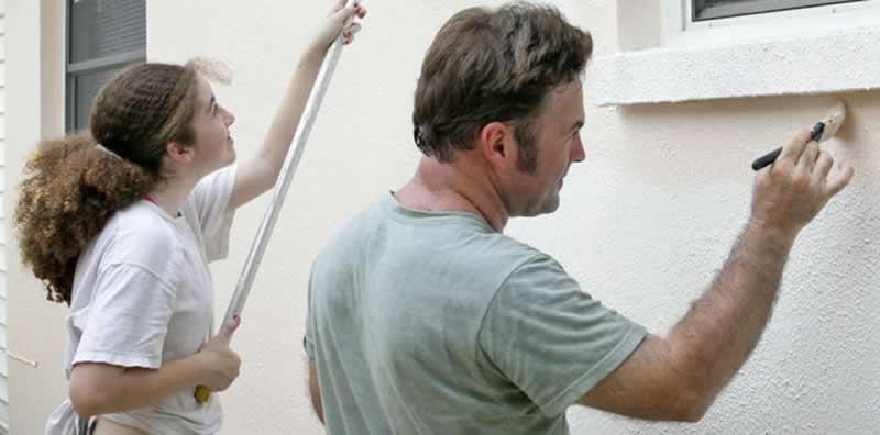 How to Repair & Paint Stucco - painting stucco