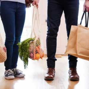 How to achieve a plastic-free household - shopping bags