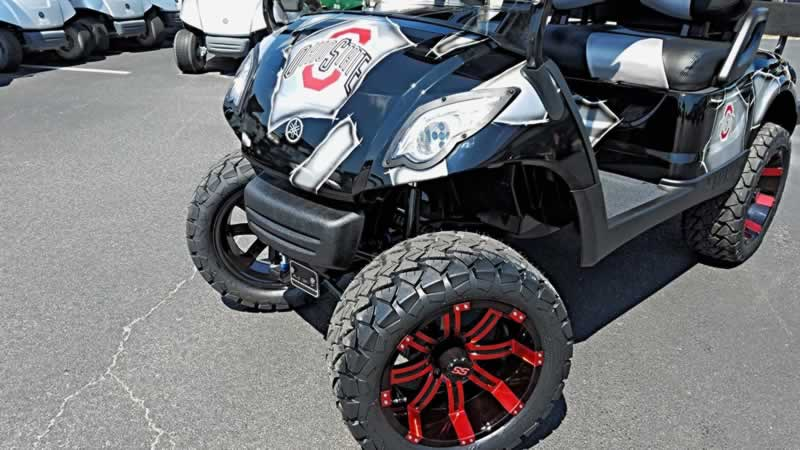 Must Have Golf Cart Accessories - tires