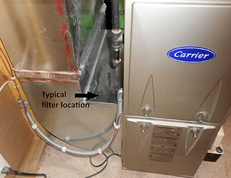Tips to Pick the Right Furnace Filter Company - filter location