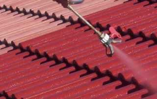 What are the major benefits of roof painting - painting