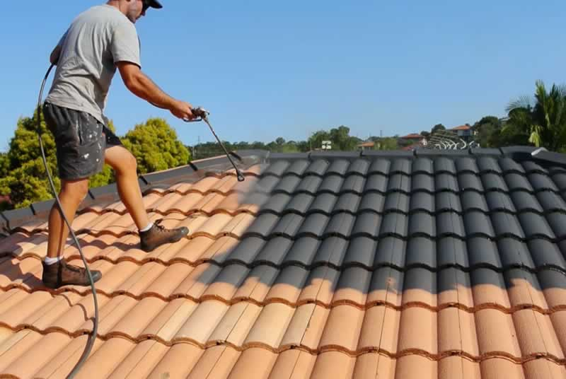 What are the major benefits of roof painting