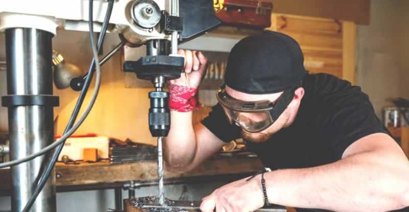 10 Metalworker's Tools Every Metal Shop Should Have - drill press