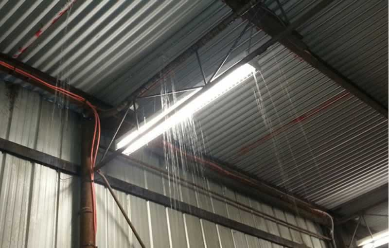 5 Convincing Reasons to Get Re-Roofing Done For Your Warehouse - leak