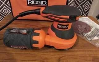 Best Random Orbit Sander - Ridgid r2601