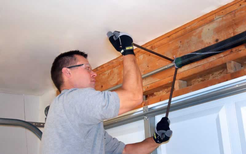 Budget Friendly Home Maintenance - garage door repair