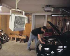 Garage Heaters Guide - ceiling garage heater