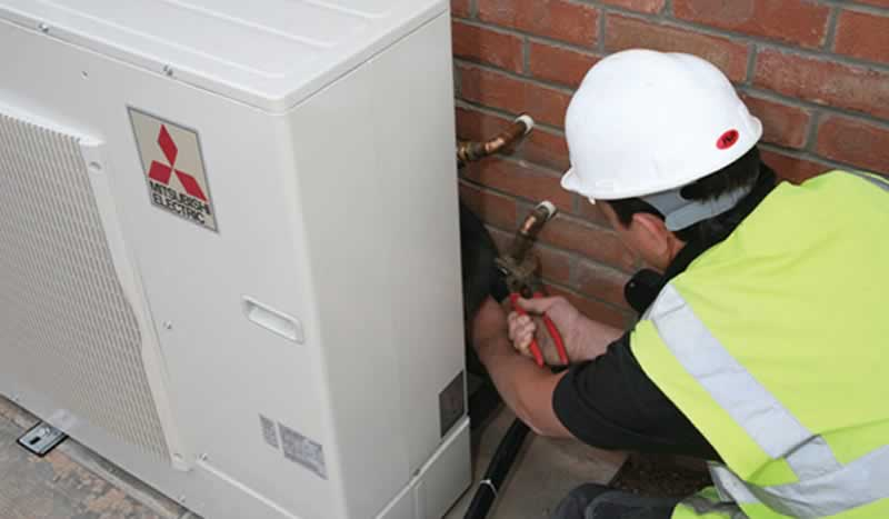 Hire a Professional to Install Heat Pumps - professional