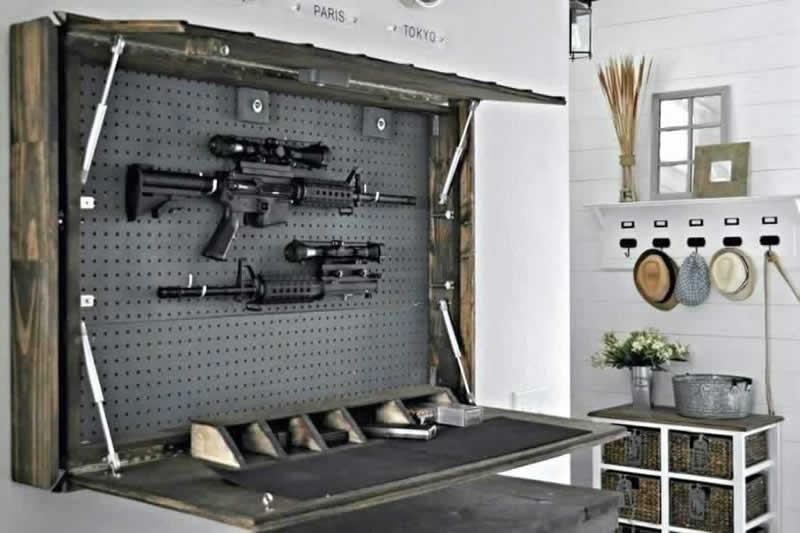 How to Make a DIY Gun Cabinet