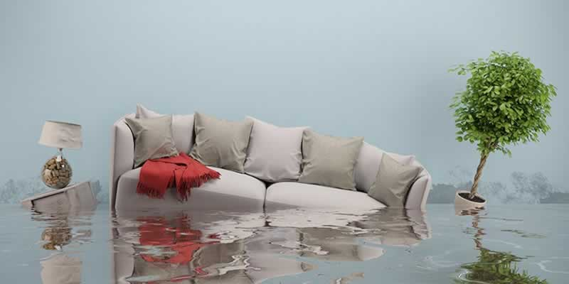 How to Protect Your House From a Flood - living room