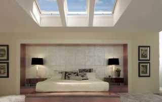 How to install skylights - bedroom
