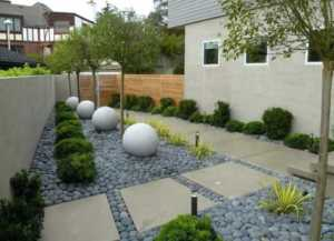 Should You Use Gravel or Concrete in Your Home - small garden