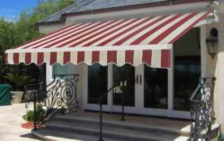 What are the benefits of industrial awnings