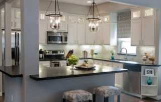 5 Easy Kitchen Decorating Ideas - lighting