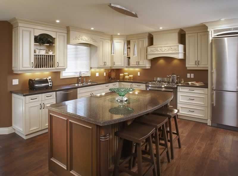 5 Helpful Tips for Better Kitchen Organization - rustic kitchen