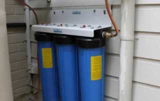 Big Blue Whole House Water Filter - twin big blue