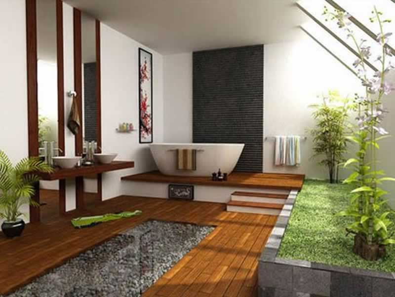 Chinese Feng Shui Makes You More Productive at Home - bathroom