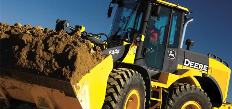 Common Heavy Machinery Types Used On Construction Sites - loader
