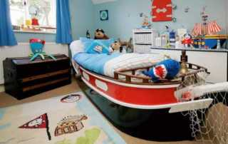 Fantastic Ideas for Organizing kids bedroom - sailor room