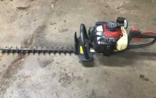 Gas Hedge Trimmer Maintenance Tips
