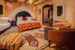 How To Organize Moroccan Rugs In Your Home - bedroom