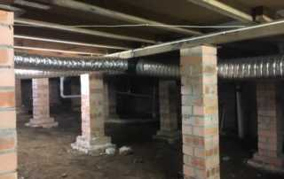 How to Lower Humidity in House - subfloor ventilation