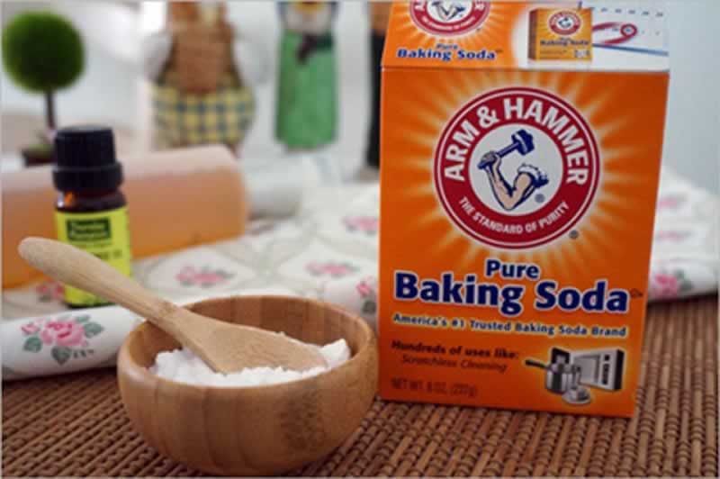 How to get scratches out of safety glasses - baking soda