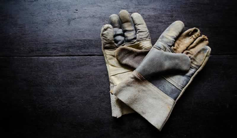 How to wash leather work gloves - gloves