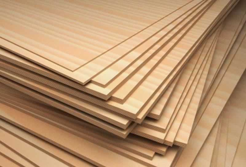 Plywood grades - stack of plywood