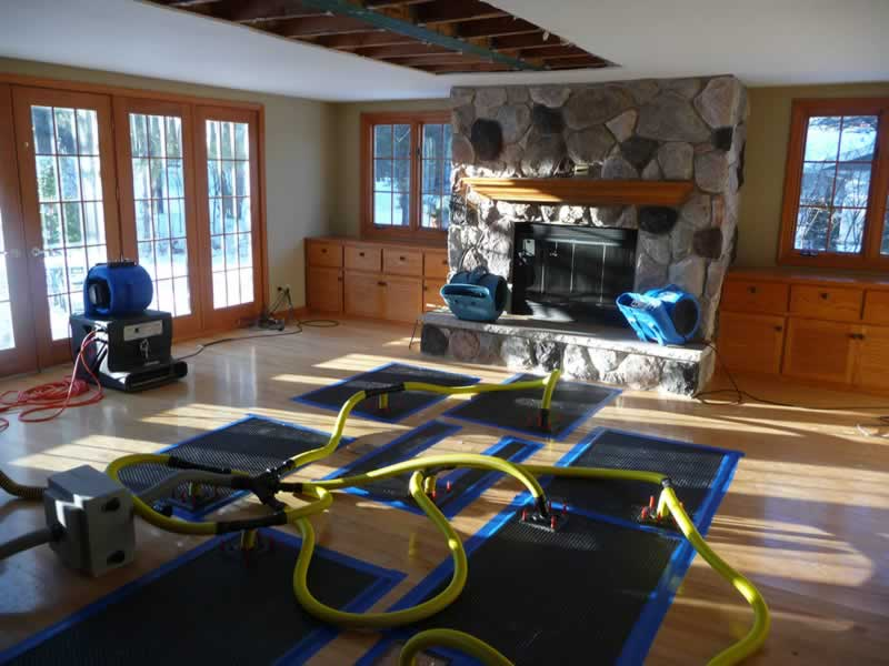 Tips to Restoring and Redesigning Your Home after Water Damage - drying