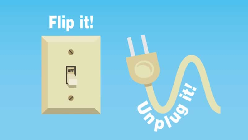 13 Simple Ways to Conserve Electricity - switch