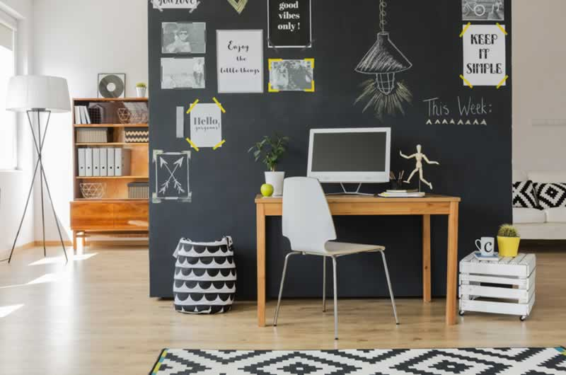 8 Stunning Ideas of Сorners Interior Design - working area