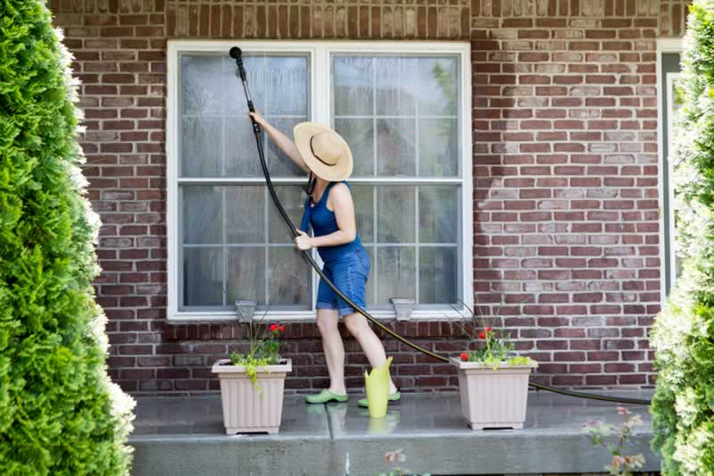 How To Clean Your Home's Outdoor Area To Increase Its Value - cleaning