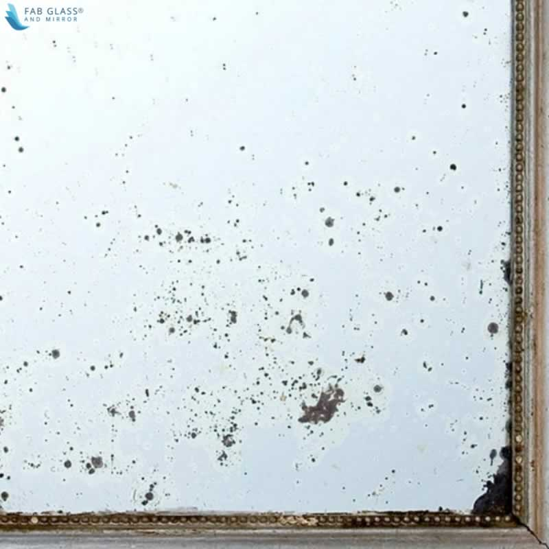 How to Remove Dark Spots from Antique Mirrors - paint