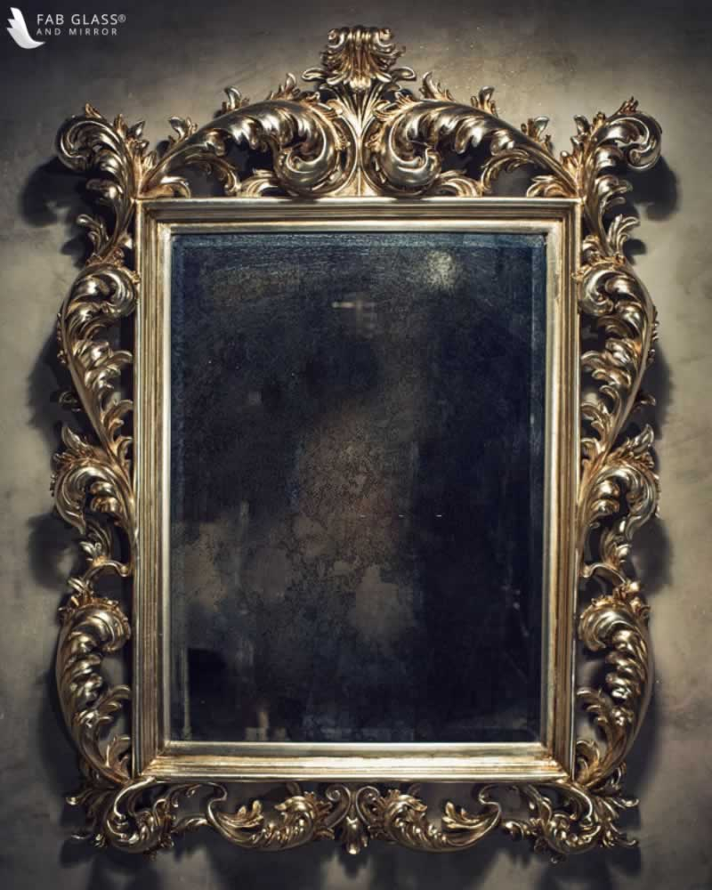How to Remove Dark Spots from Antique Mirrors
