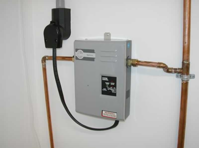 How to install an electric tankless water heater - water heater