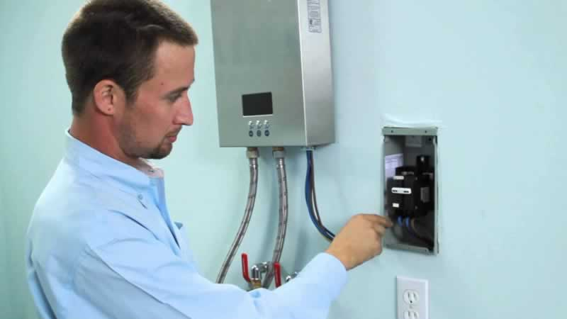 How to install an electric tankless water heater