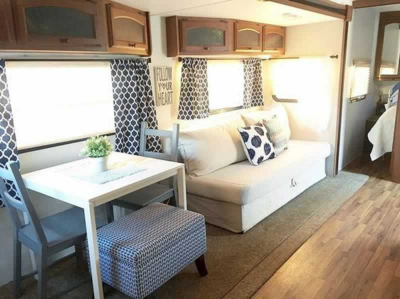 How to optimize space in your motorhome - nice RV decor