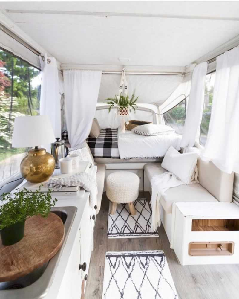 How to optimize space in your motorhome