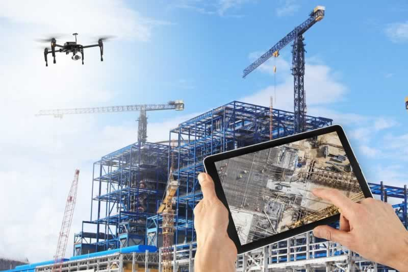 Technology Offers New Ways To Build for the Construction Industry - drones